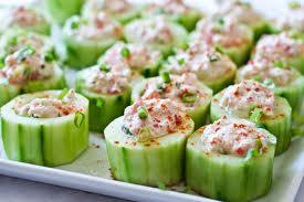 Spicy Cucumber Cups